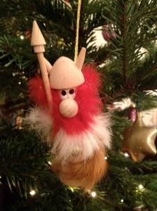 Viking Christmas Tree decoration from Iceland