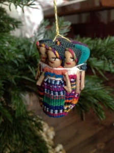Christmas tree decoration from Guatemala