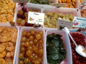 Candied fruit, France