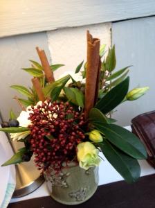 Flower arrangement, Honfleur