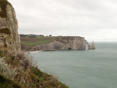 Falaise, Etretat, Normandy