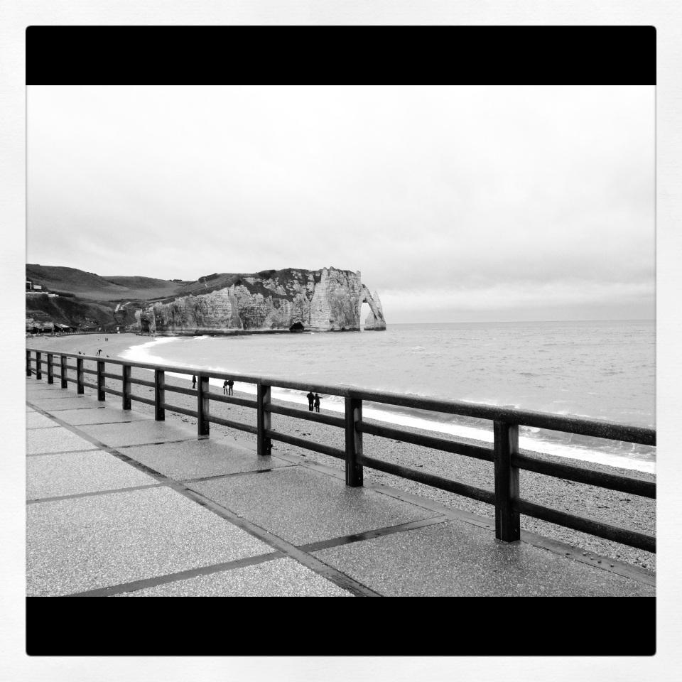 Boardwalk, Etretat, Normandy