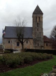 Church, Aizier, Eure, Normandy