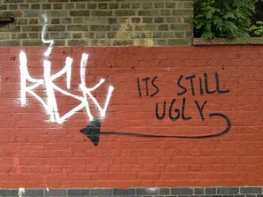 Graffiti, East London