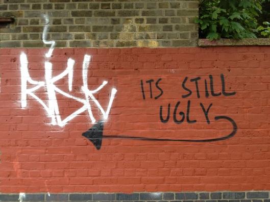 Graffiti, East London