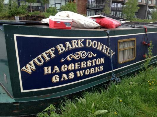 Houseboat, East London