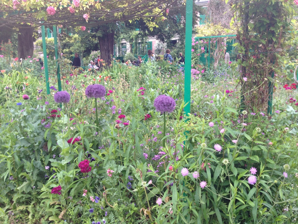 Flower garden, Giverny