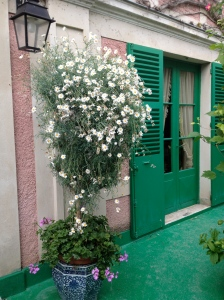 Door to Monet's house, Giverny