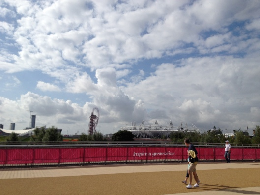 Inspire a generation, Olympic Park, London