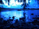 Seine, blue light