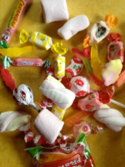 French Halloween Candy