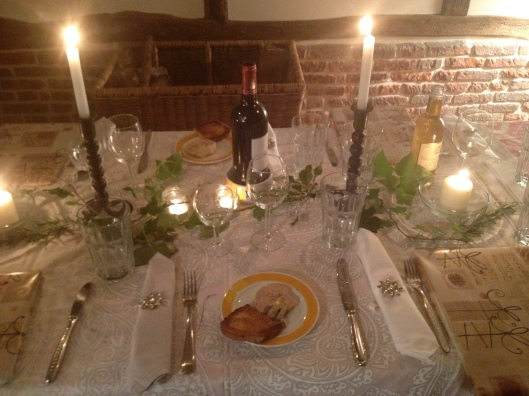 New Years Eve Table, Normandy