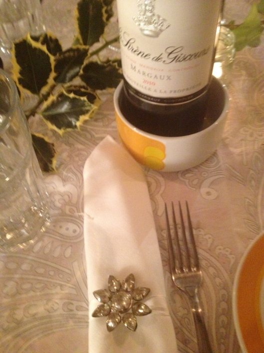 Napkin ring from The White Company