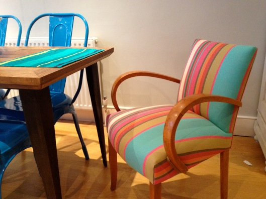 French card chair