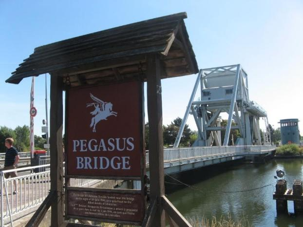 Image result for pegasus bridge